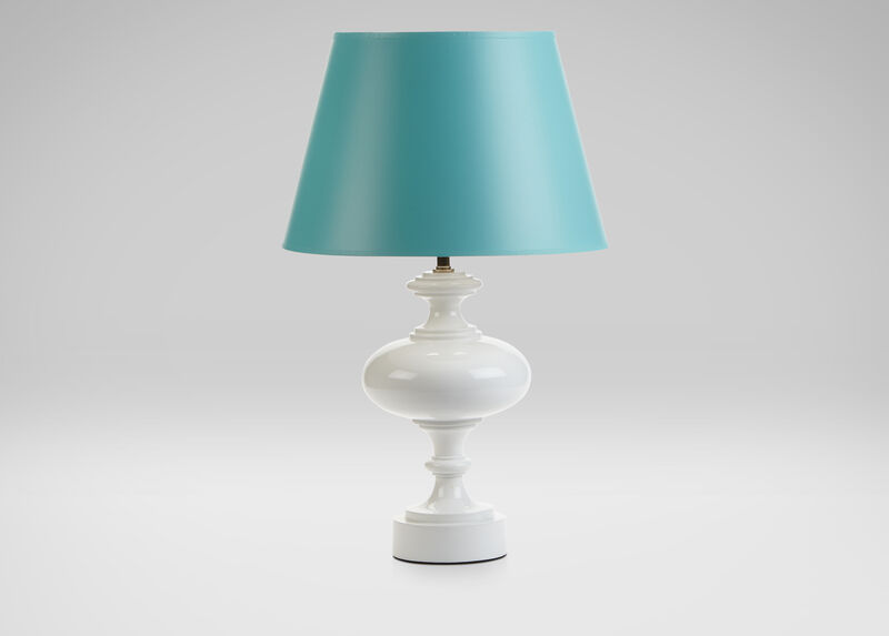 Brock Turquoise Table Lamp ,  , large_gray
