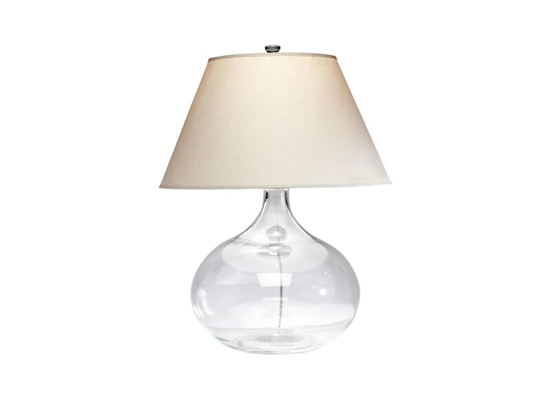 Clear Glass Table Lamp ,  , large_gray