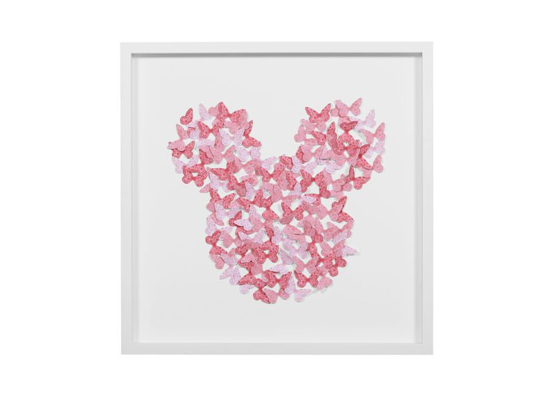 Mickey Mouse Butterflies ,  , large_gray