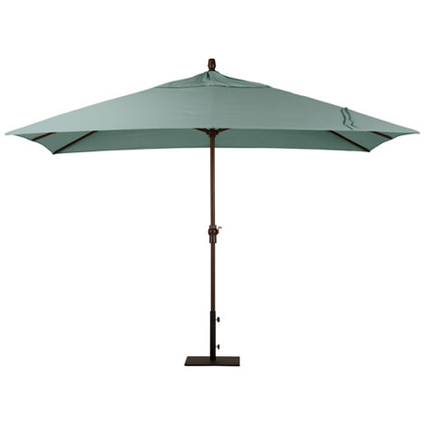 Spa Blue Rectangular Market Umbrella ,  , large