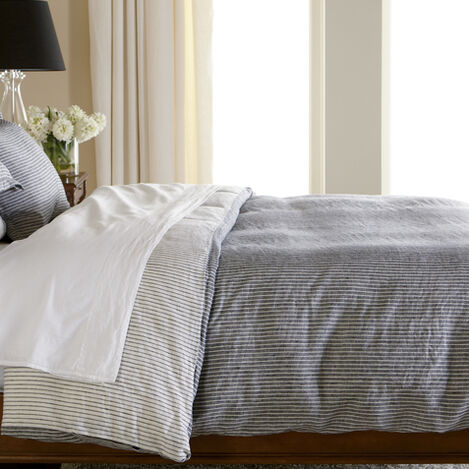 Verano Ticking Stripe Duvet Cover ,  , large