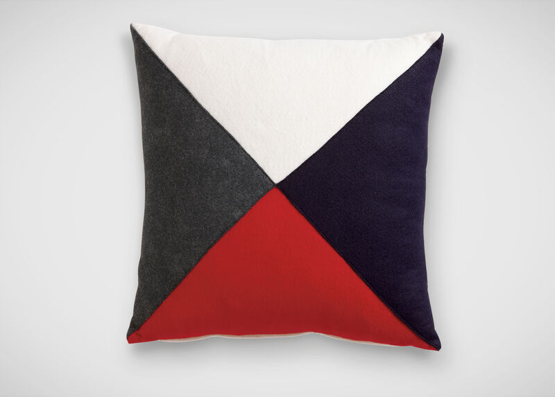 Multicolor Flag Pillow ,  , large_gray