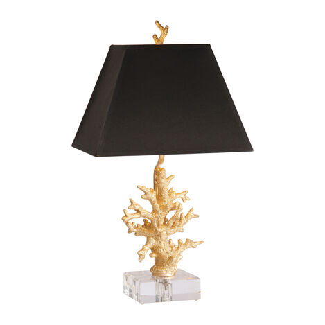 Gold Coral Accent Lamp ,  , large