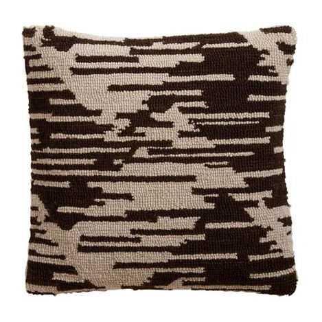 Scattered Chevron Wool Pillow ,  , large