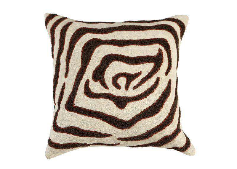 Modern Abstract Zebra Pillow ,  , large_gray