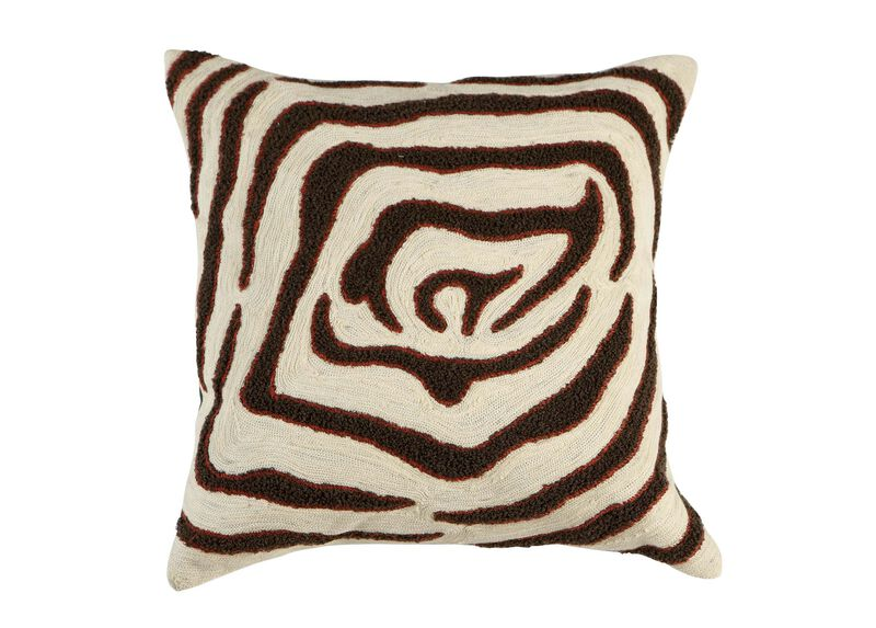 Modern Abstract Pillow : Modern Abstract Zebra Pillow Pillows