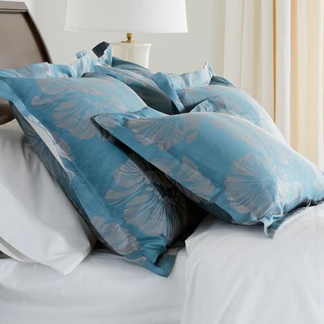 Susana Blue Floral Shams ,  , large