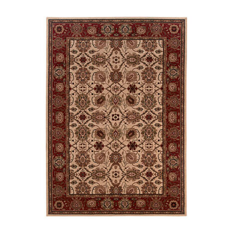 Sultanabad Area Rug, Ivory/Red ,  , large