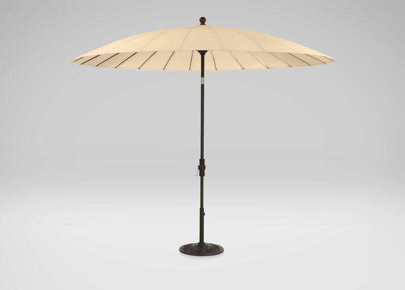 Khaki Shanghai Market Umbrella ,  , large_gray