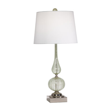 Seafoam Glass Table Lamp ,  , large