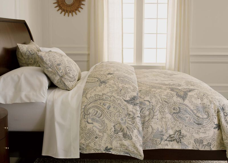 Sydney Paisley Duvet Cover ,  , large_gray