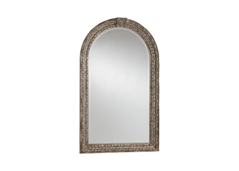 Antique Silver Arched Mirror ,  , large_gray
