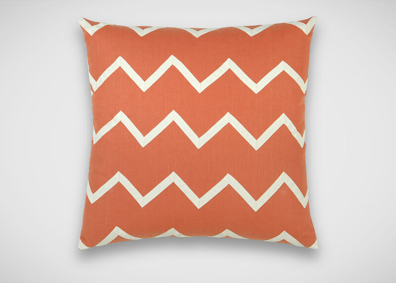 Chevron Linen Pillow ,  , large_gray