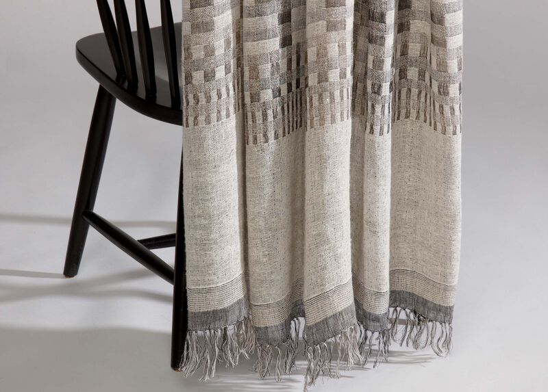 Graphic Gray Throw ,  , large_gray