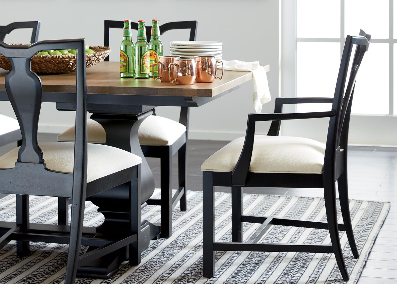 cameron extension dining table | dining tables