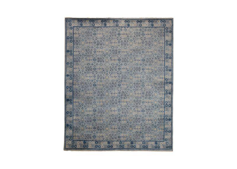 Khotan Rug, Gray/Blue ,  , large_gray
