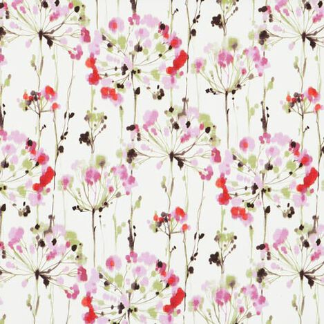 Dandelion Pink Fabric ,  , large