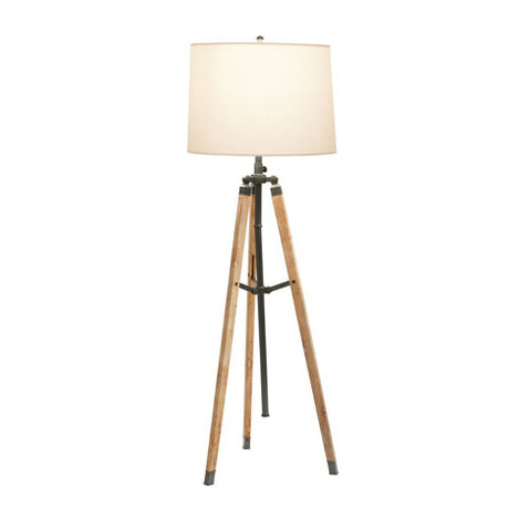 Shop Floor Lamps | Lighting Collections | Ethan Allen:Surveyor's Bronze Floor Lamp , , large,Lighting