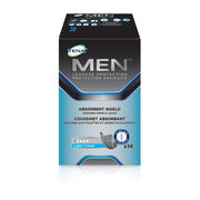 TENA MEN Protective Shield Level 0 - 1 Pack 14 Count
