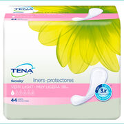 TENA Very Light Liners Long - 1 Pack 24 Count