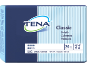TENA Classic Briefs M - 1 Pack 25 Count