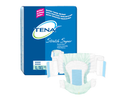 TENA Stretch Super Briefs L/XL - 1 Pack 28 Count