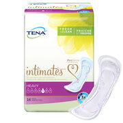 TENA Intimates Pads Heavy Regular, incontinence pads, super absorbent pads, incontinence pads for women, maximum pads