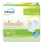 incontinence ultrathin pad, tena pads, TENA Intimates Light Ultra Thin Pads Regular, incontinence pads, ultra thins, incontinence pads for women, light bladder leakage