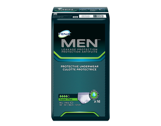 TENA MEN Comfort Fit Underwear M/L - 1 Pack 16 Count