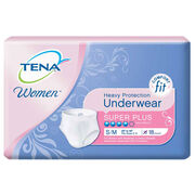 TENA Women™ Protective Underwear Super Plus Absorbency Small/Medium - 1 Pack 18 Count