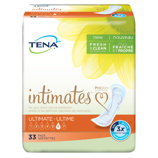 TENA Ultimate Pads 1 Pack - 10 Count