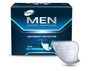TENA MEN Protective Guards Level 1 - 1 Pack 24 Count
