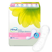 TENA Serenity Very Light Liners Regular 1 Pack - 26 Count