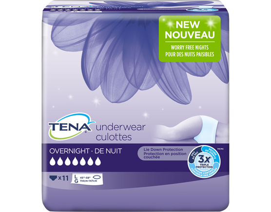 Overnight Underwear - Medium 16 Count