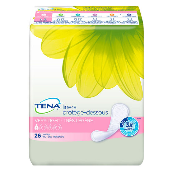 incontinence liners, lbl pads, light bladder leakage