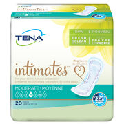 moderate incontinence pad, tena pads, medium absorbency pad