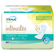 TENA Moderate Pads Long 1 Pack - 60 Count