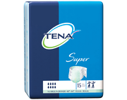 TENA Super Briefs XLarge - 4 Pack 60 Count