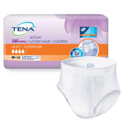 TENA Women ACTIVE™ Underwear  Small/Medium - 1 Pack 18 Count
