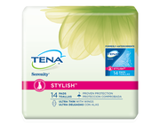 TENA STYLISH™ Ultra Thin Pads with Wings 1 Pack - 14 Count