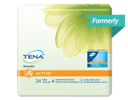 TENA Light Ultra Thin Pads Long 1 Pack - 24 Count