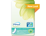 TENA Pads Moderate with Aloe Vera Long