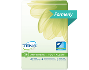 TENA Moderate Thin Pads Regular - 1 Pack 42 Count