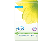TENA Serenity InstaDRY Heavy Long Pads 1 Pack - 10 Count