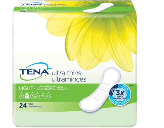 TENA  ACTIVE &#7504&#7580 - Serviettes ultraminces - Longues