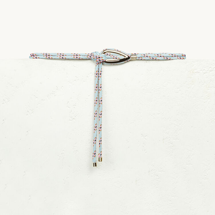 Ceinture en corde avec bijou - Best Sellers - MAJE