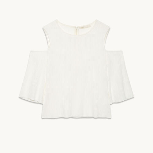 Off-the-shoulder top - Tops & Shirts - MAJE
