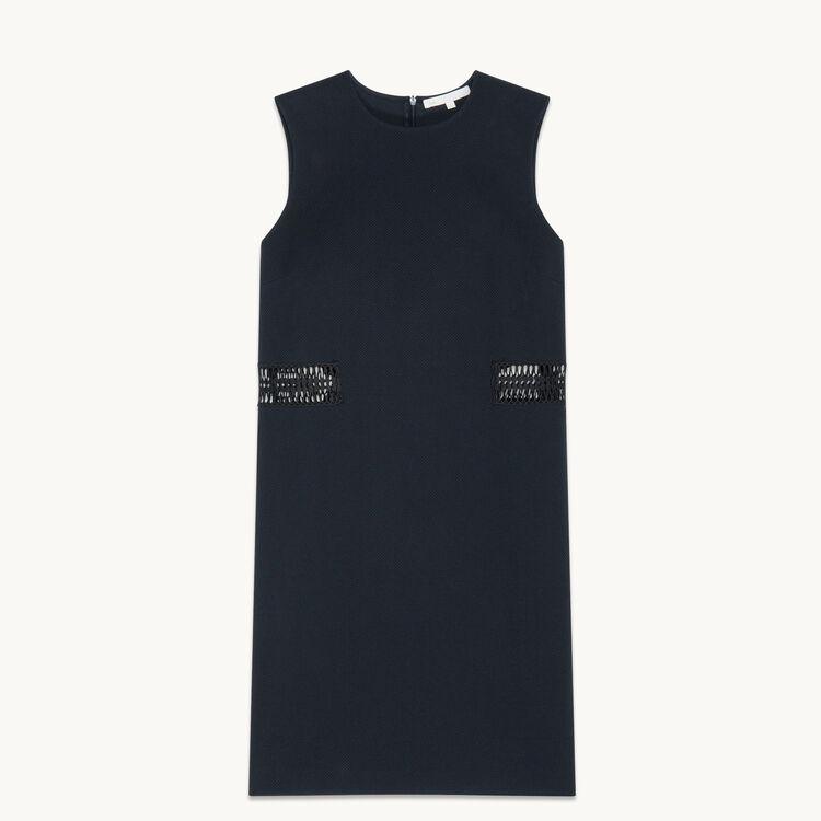 Straight sleeveless dress - Dresses - MAJE