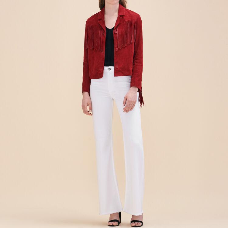 Jean flare en coton stretch - Jeans - MAJE
