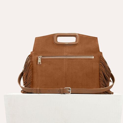 Suede shoulder bag - All bags - MAJE